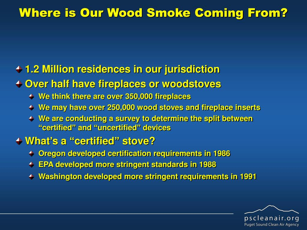 Where is Our Wood Smoke Coming From?