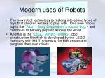 modern uses of robots8