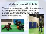 modern uses of robots9