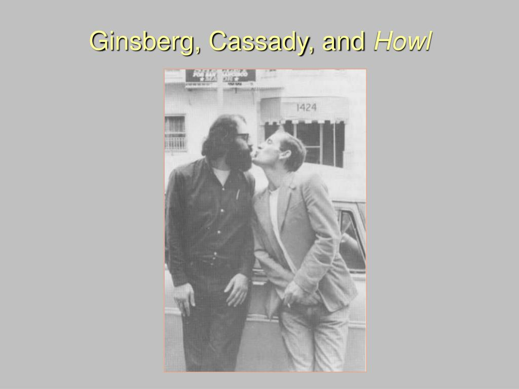 Ginsberg, Cassady, and