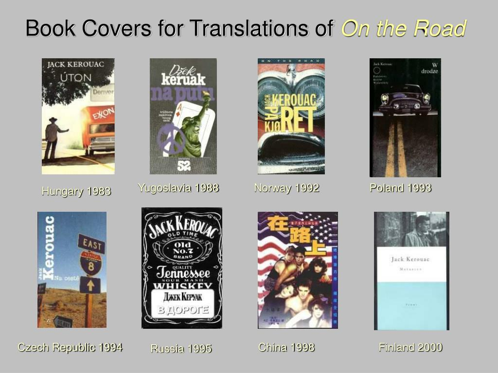 Book Covers for Translations of