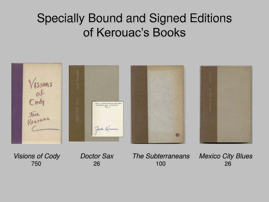 Specially Bound and Signed Editions