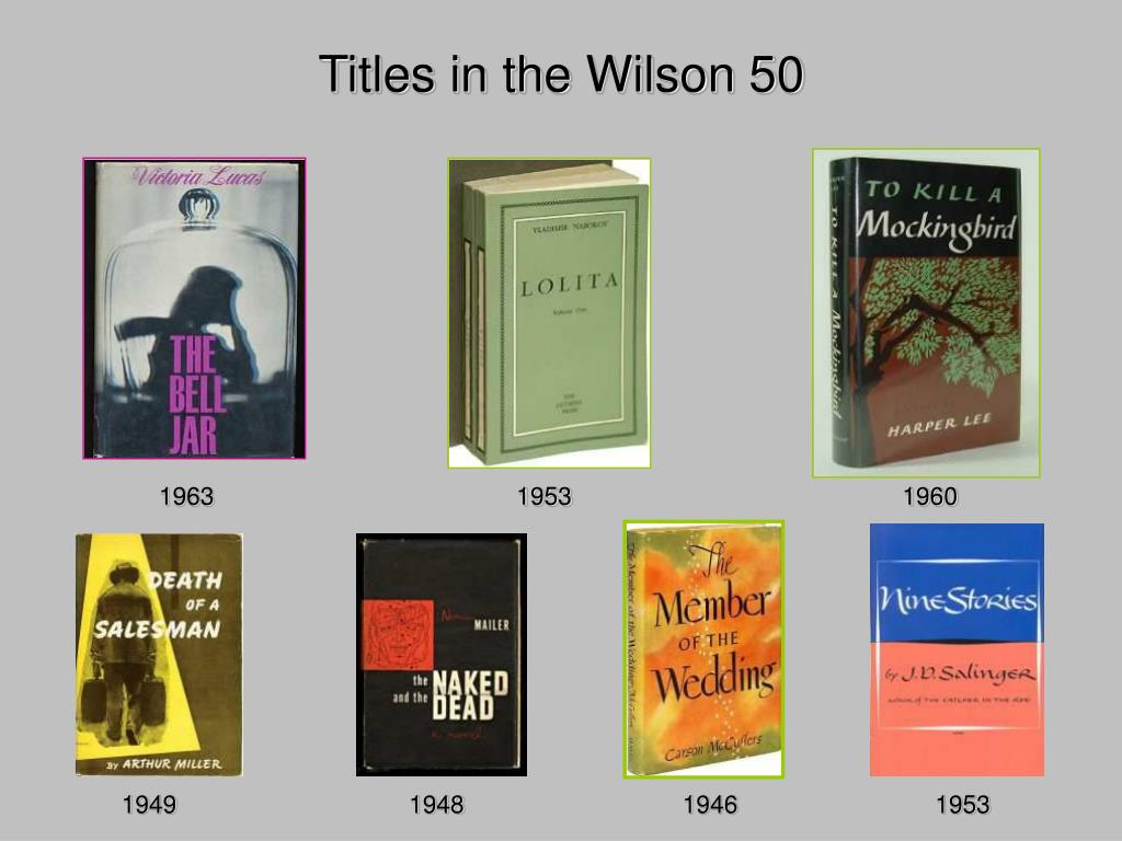 Titles in the Wilson 50
