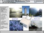 produkt bersicht wlan access points lancom oap 54 wireless