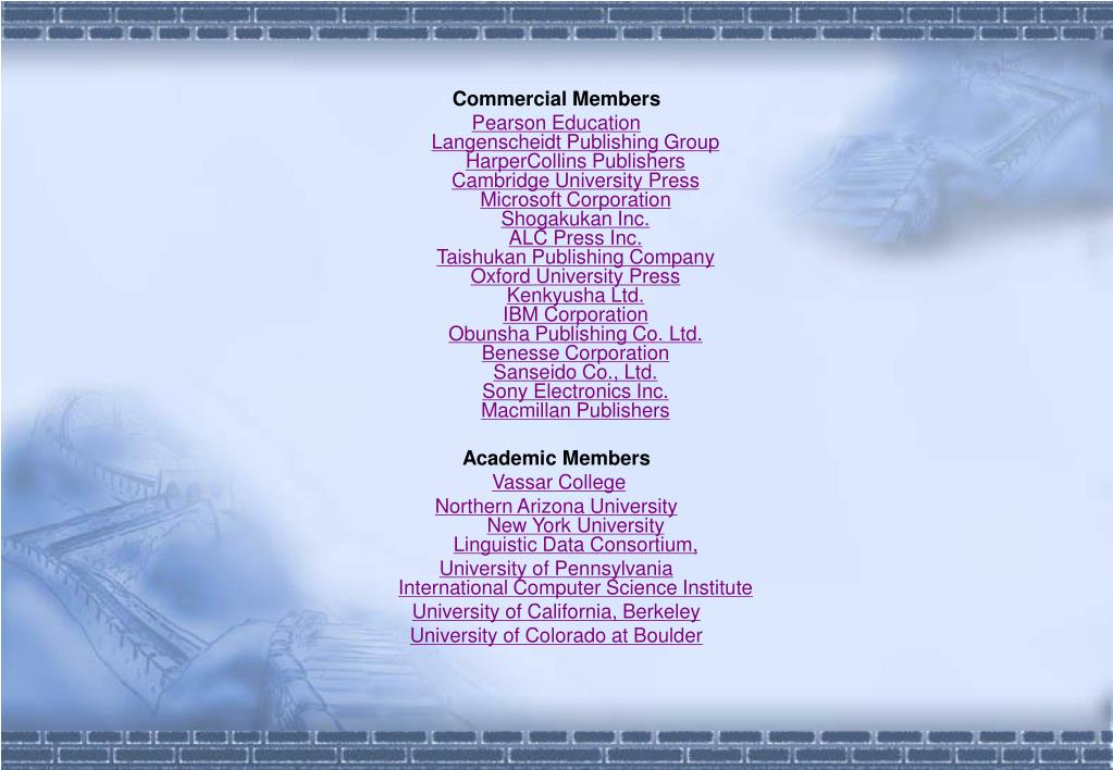 Commercial Members