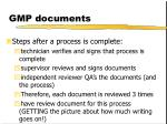 gmp documents23