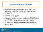 rebase national rate6