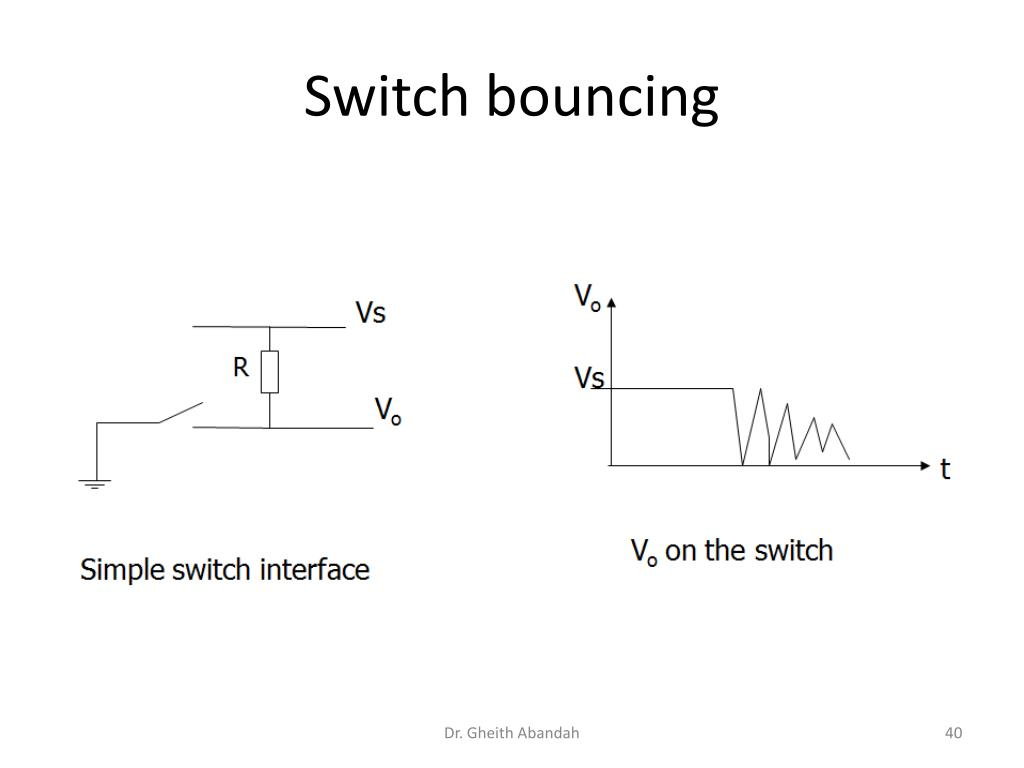 Switch bouncing