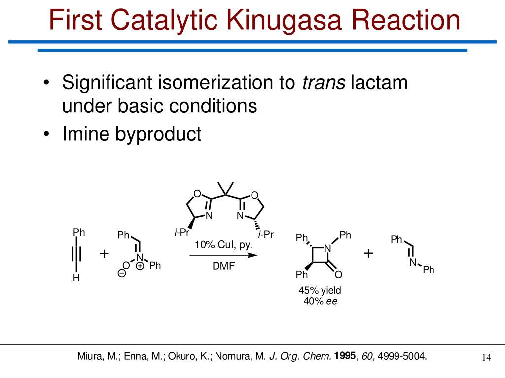 First Catalytic Kinugasa Reaction
