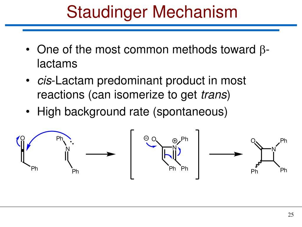 Staudinger Mechanism