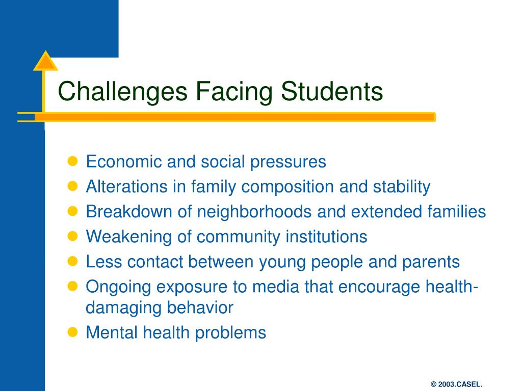 challenges faced by students