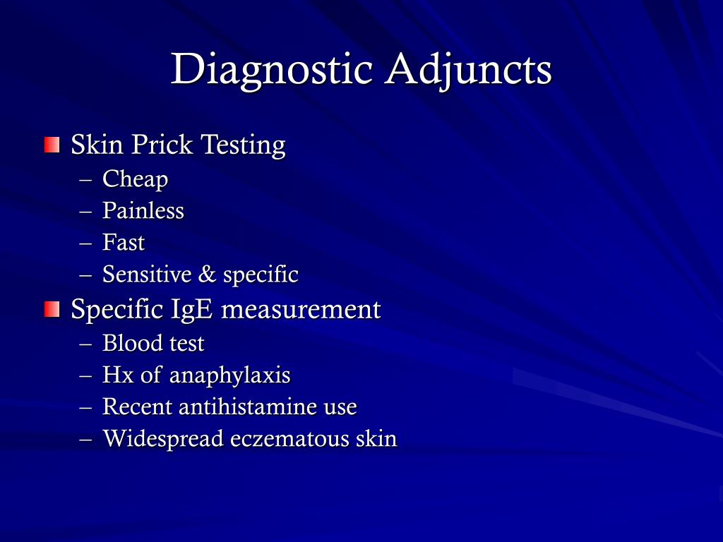 Diagnostic Adjuncts