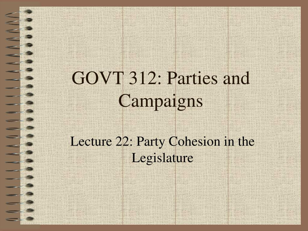 govt 312 parties and campaigns