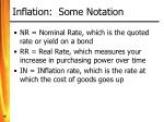 inflation some notation