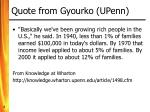 quote from gyourko upenn