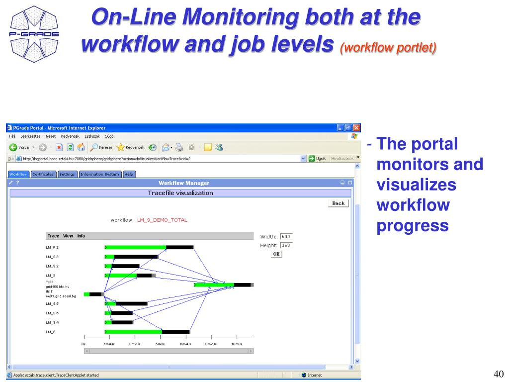 On-Line Monitoring both at the