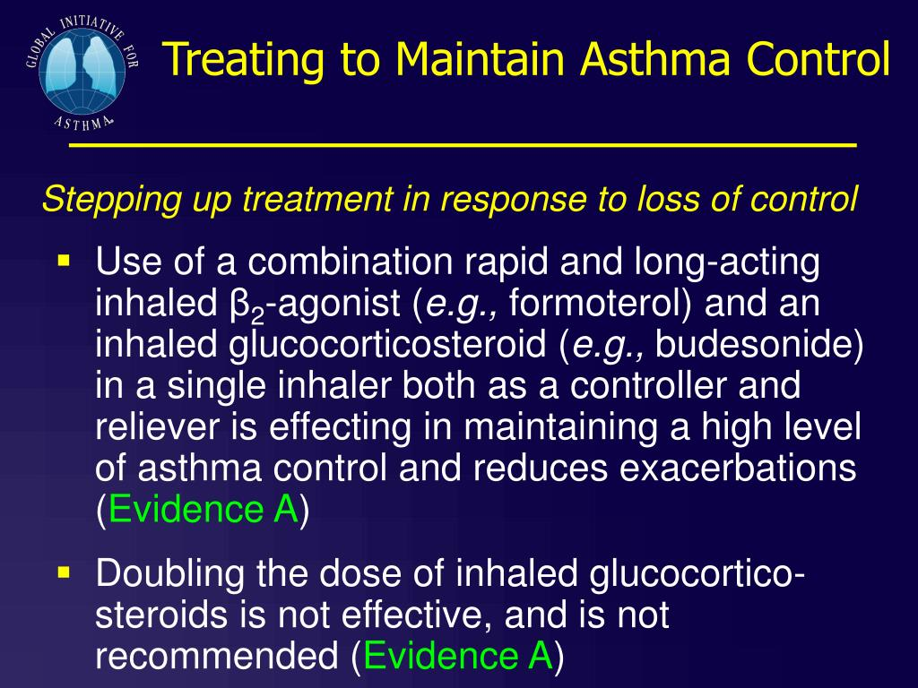 Treating to Maintain Asthma Control
