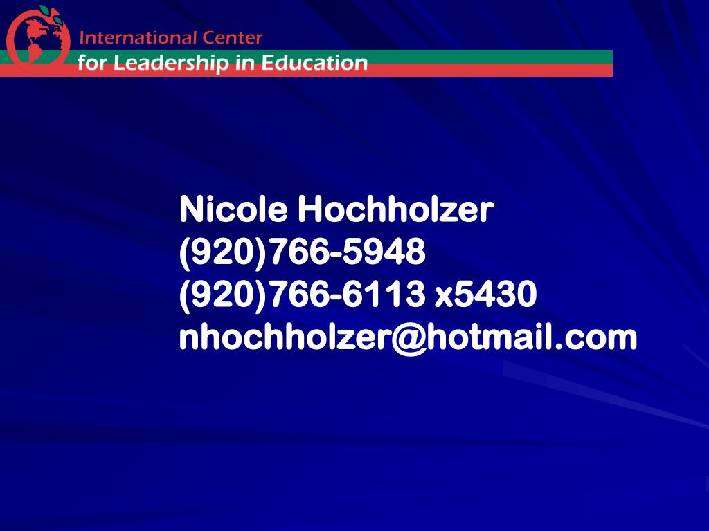Nicole Hochholzer