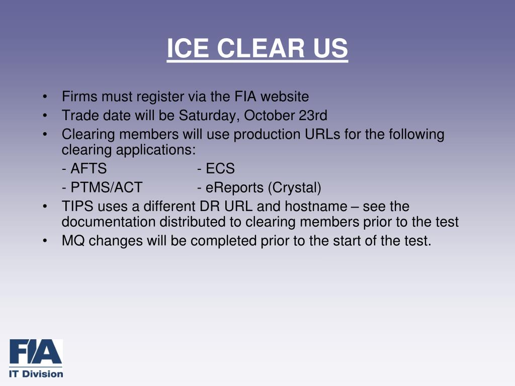 ICE CLEAR US