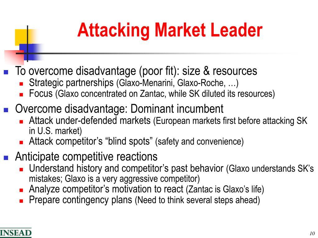Attacking Market Leader