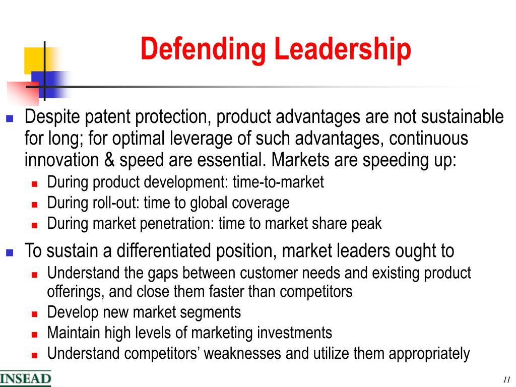Defending Leadership