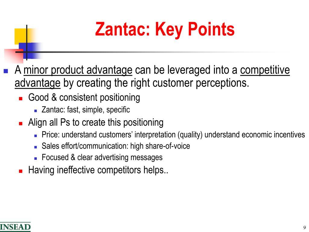 Zantac: Key Points