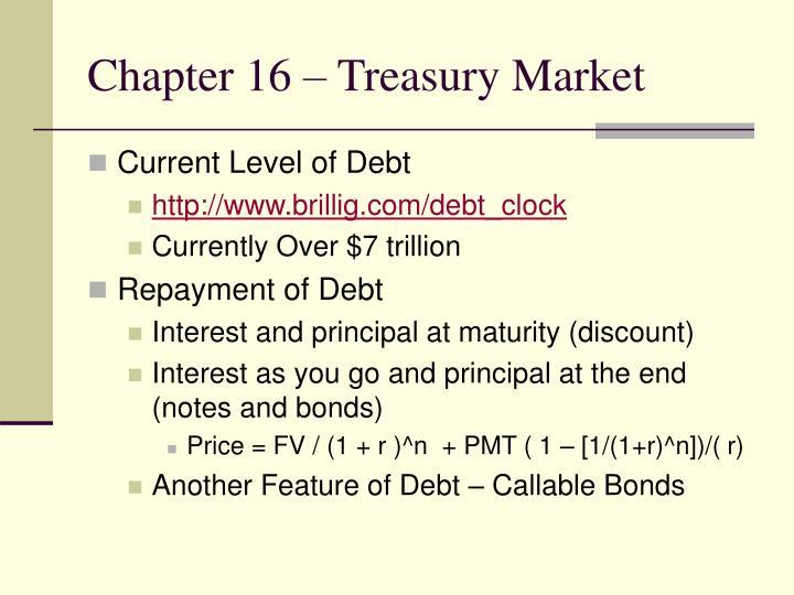 Chapter 16 treasury market2