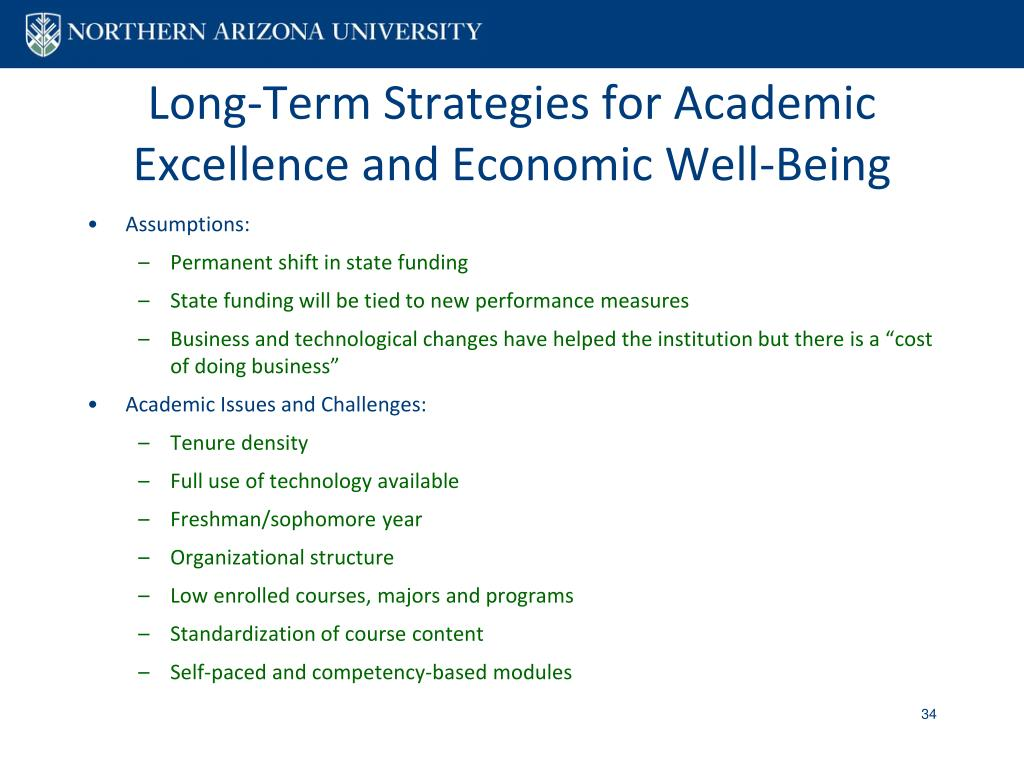 Long-Term Strategies for Academic Excellence and Economic Well-Being
