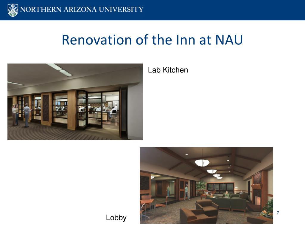 Renovation of the Inn at NAU