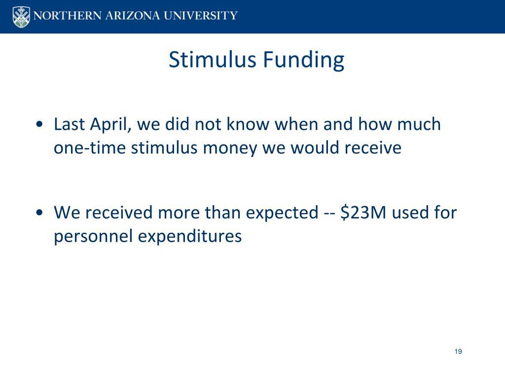 Stimulus Funding