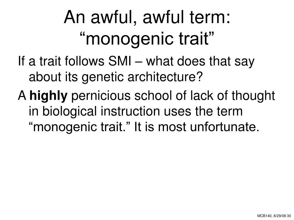 An awful, awful term: