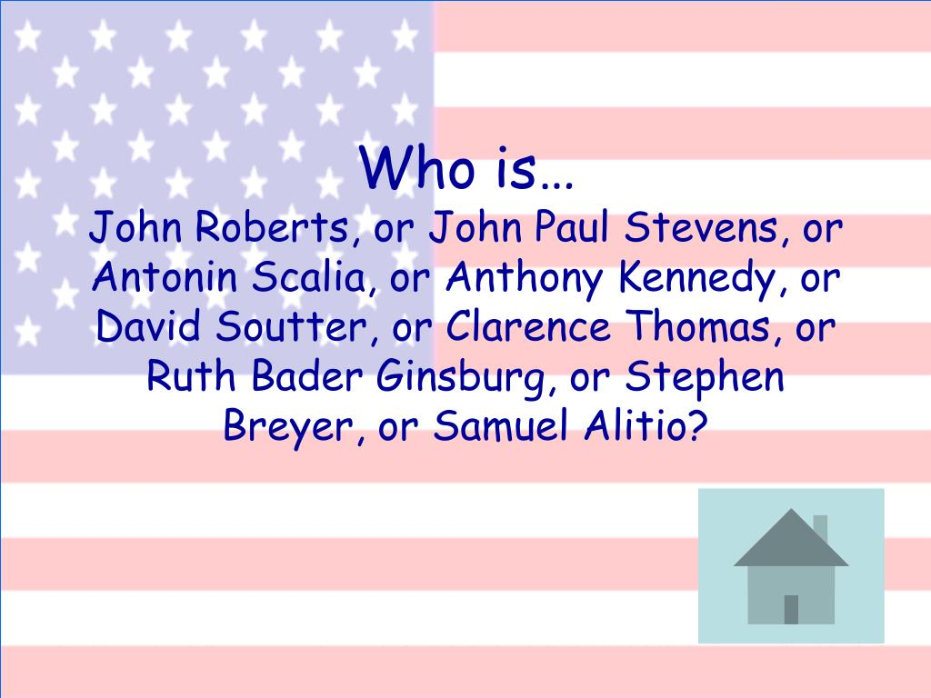 Who is…