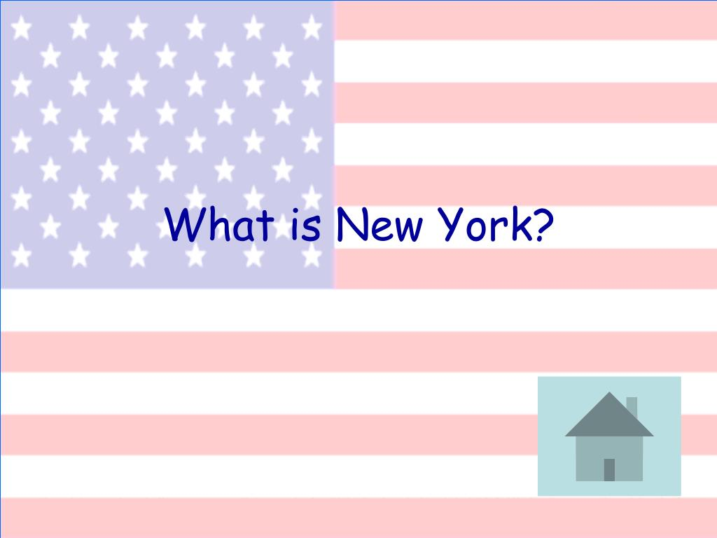 What is New York?