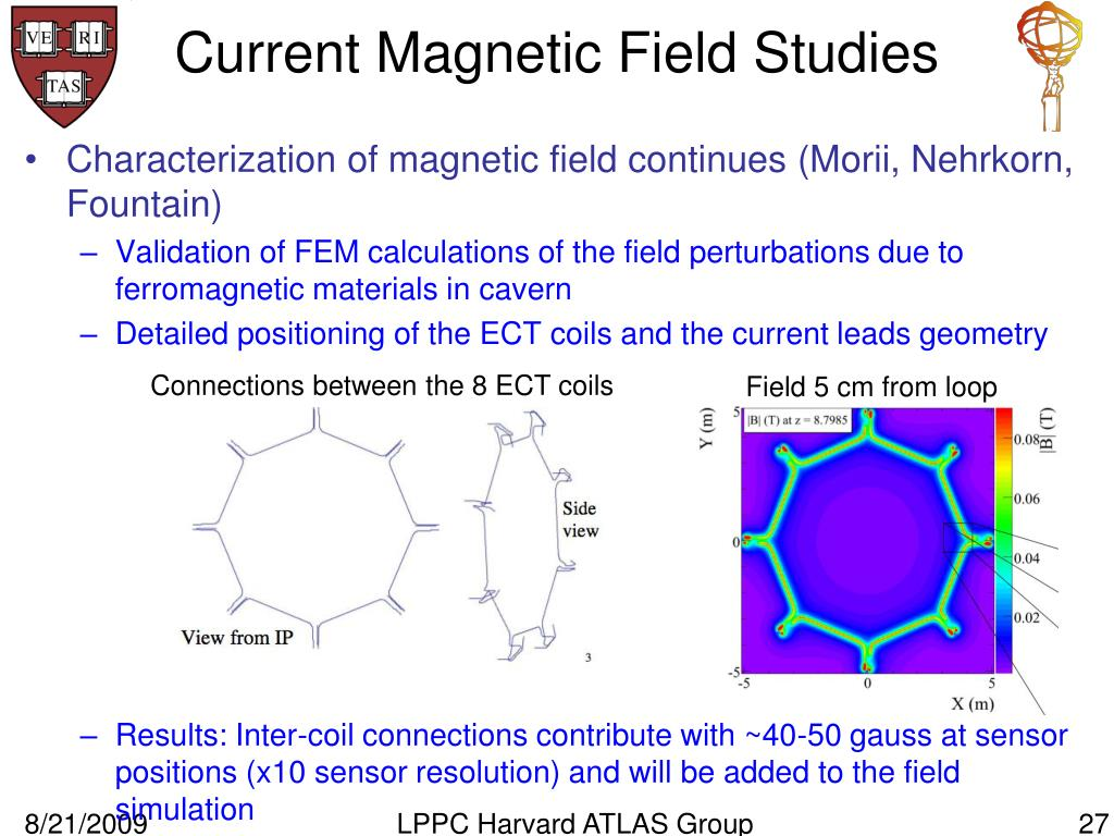 Current Magnetic Field Studies