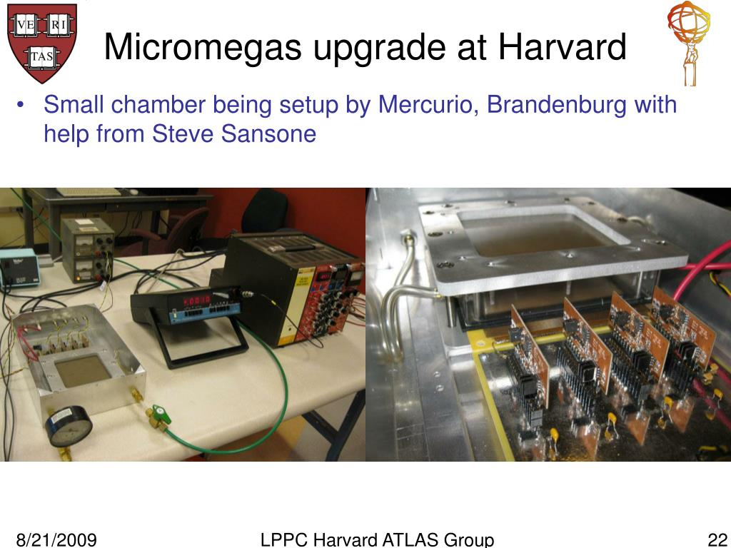 Micromegas upgrade at Harvard