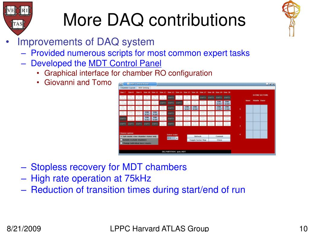 More DAQ contributions