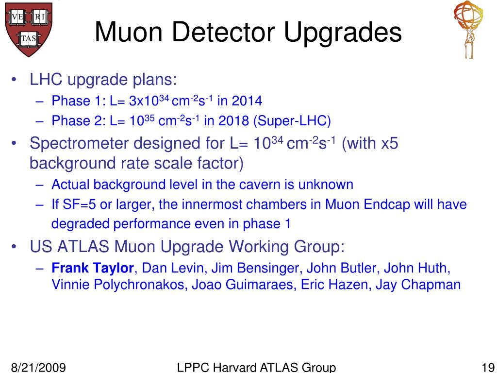 Muon Detector Upgrades