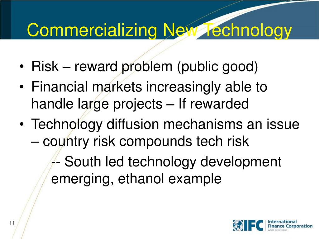 Commercializing New Technology
