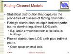 fading channel models