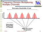 frequency division multiplexing multiple channels