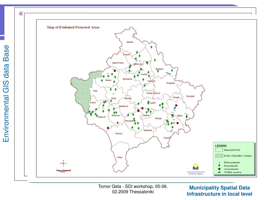 Environmental GIS data Base