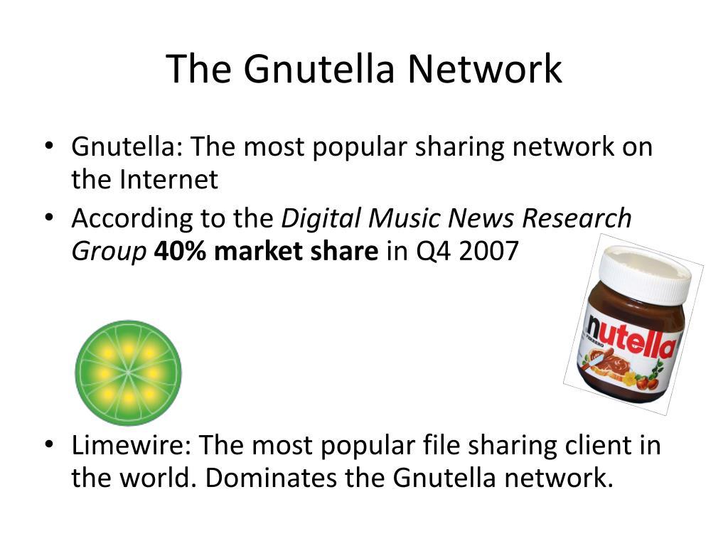 The Gnutella Network