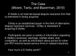 the case moore tanlu and bazerman 2010