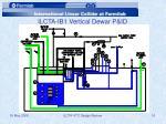 ilcta ib1 vertical dewar p id