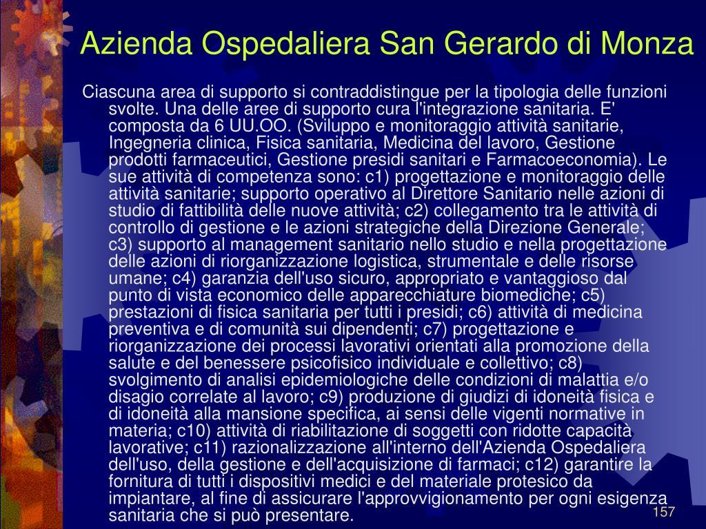 Azienda Ospedaliera San Gerardo di Monza