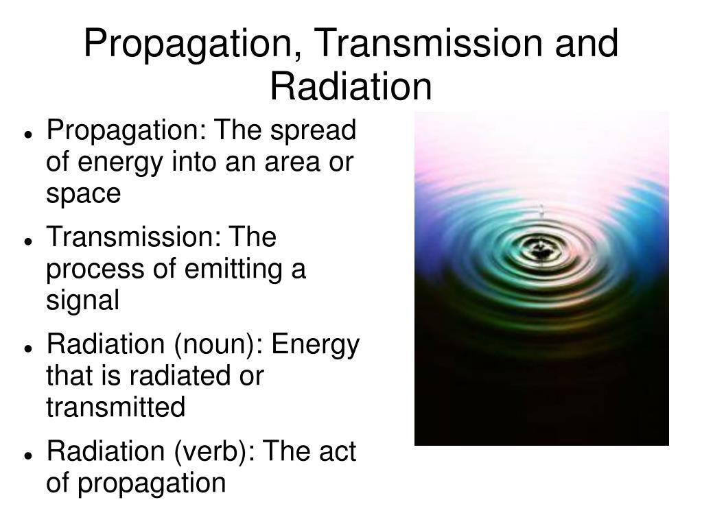 Propagation, Transmission and Radiation