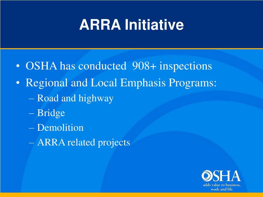 ARRA Initiative