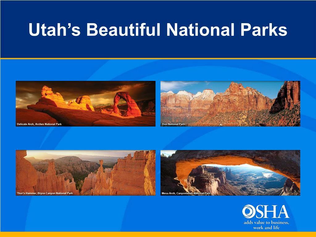 Utah's Beautiful National Parks