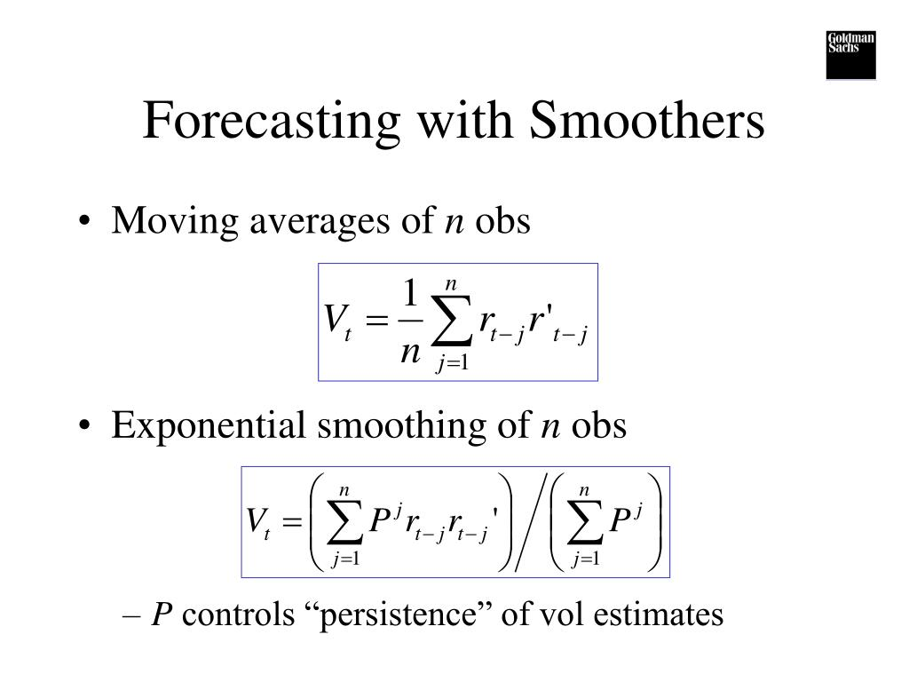 Forecasting with Smoothers