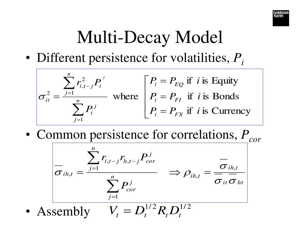 Multi-Decay Model